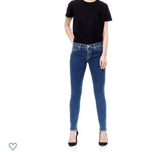 Hudson Nico Mid-Rise Skinny Jean Size 28 ONEW